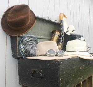 Fotobox Requisiten Accessoires Holztruhe